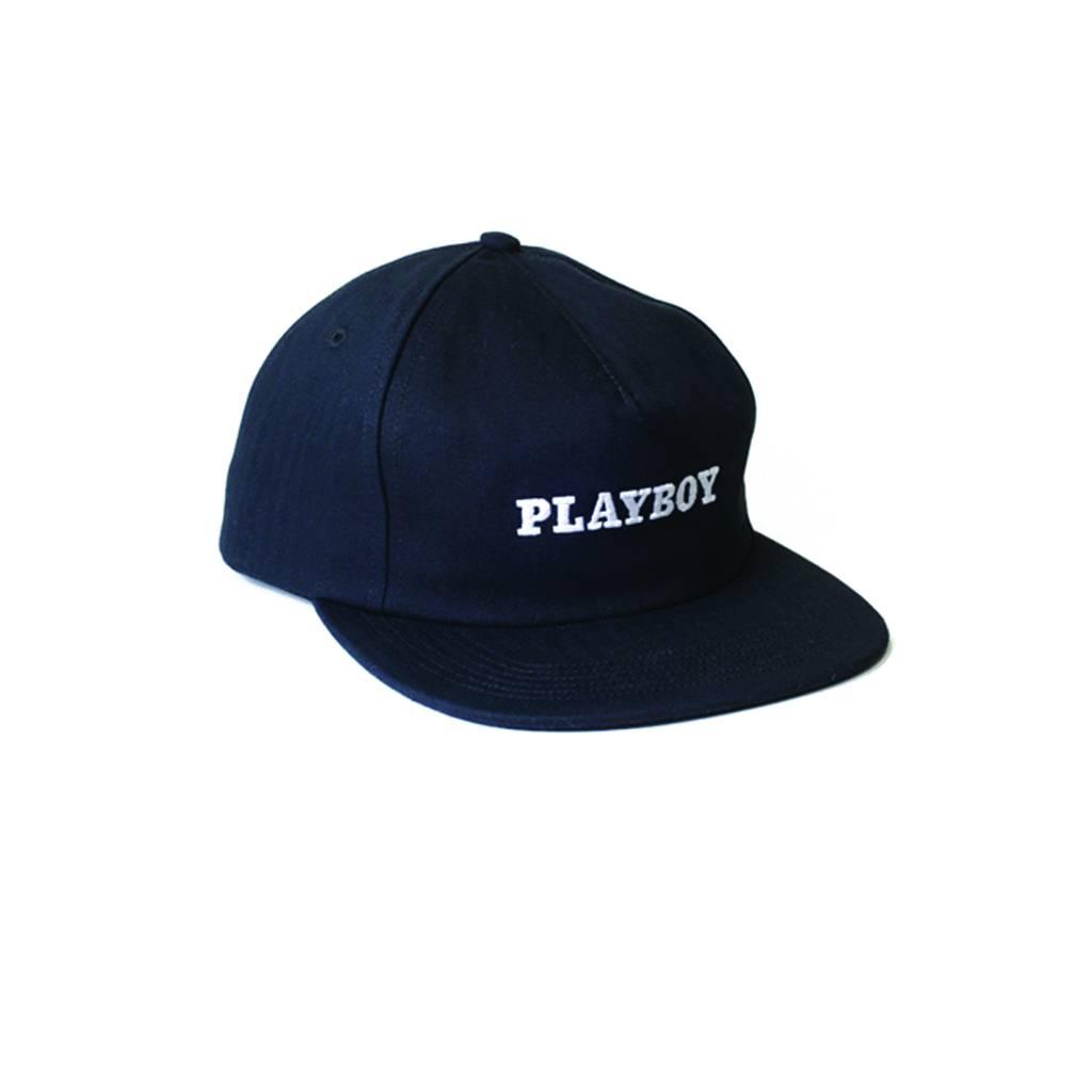 GOOD WORTH GOOD WORTH X PLAYBOY SNAPBACK - BLACK