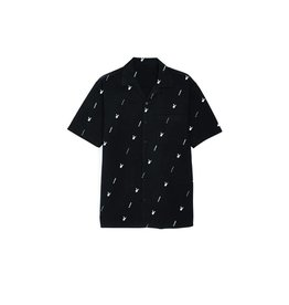 GOOD WORTH X PLAYBOY S/S BUTTON - BLACK