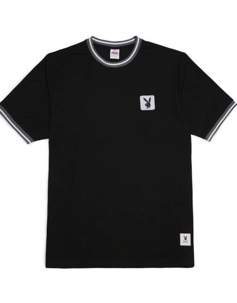 GOOD WORTH GOOD WORTH X PLAYBOY MESH JERSEY - BLACK