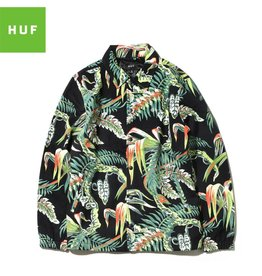 HUF X PENTHOUSE DENIM COACHES JACKET - PALM in MEDIUM