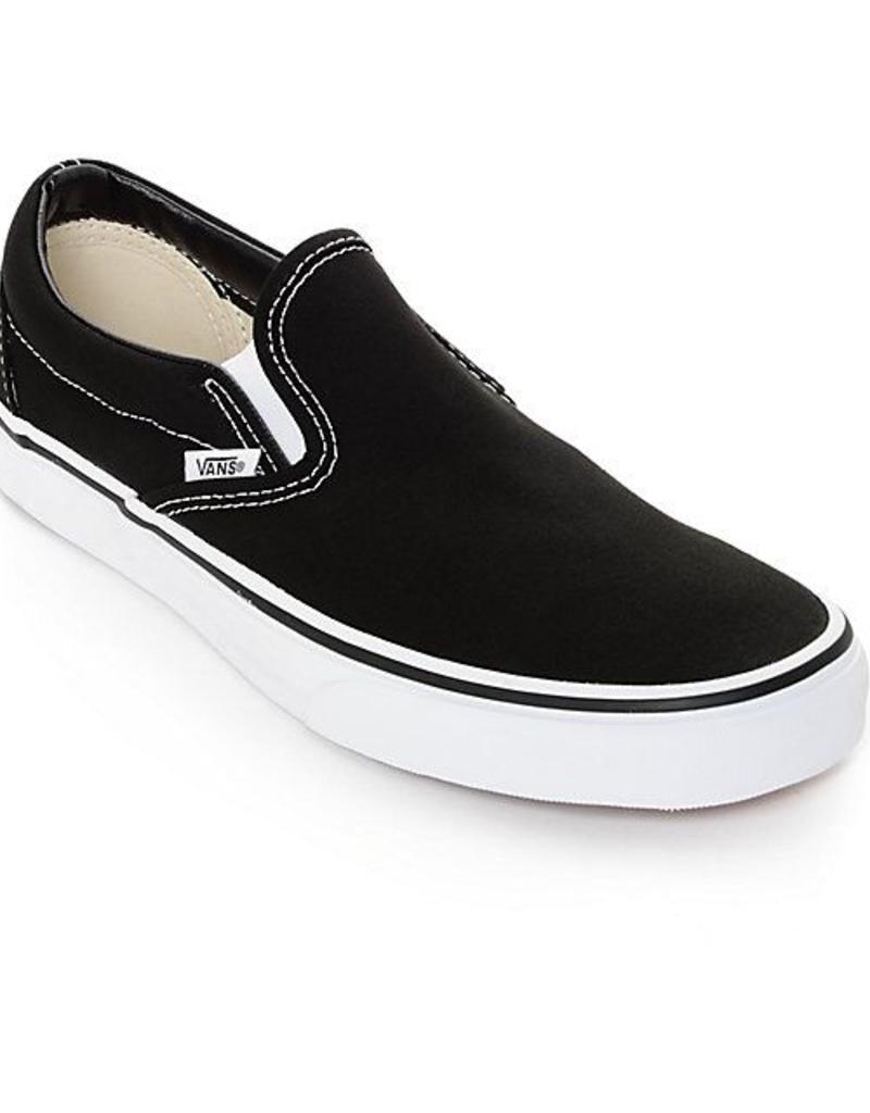VANS CLASSIC SLIP ON - BLACK