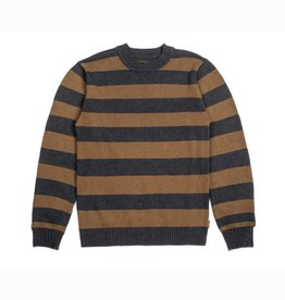 BRIXTON BRIXTON WES SWEATER - WASHED BLACK