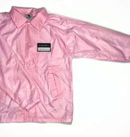 KINGSWELL PATCHED COACH JACKET - PINK
