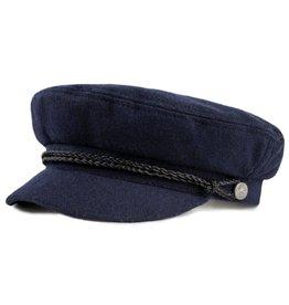 BRIXTON BRIXTON FIDDLER CAP - NAVY/BLACK