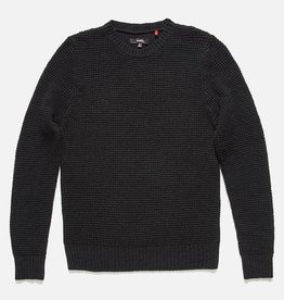 BANKS JOURNAL BANKS CUBE KNIT SWEATER - DIRTY BLACK