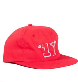 ALLTIMERS #1 TINI HAT - RED