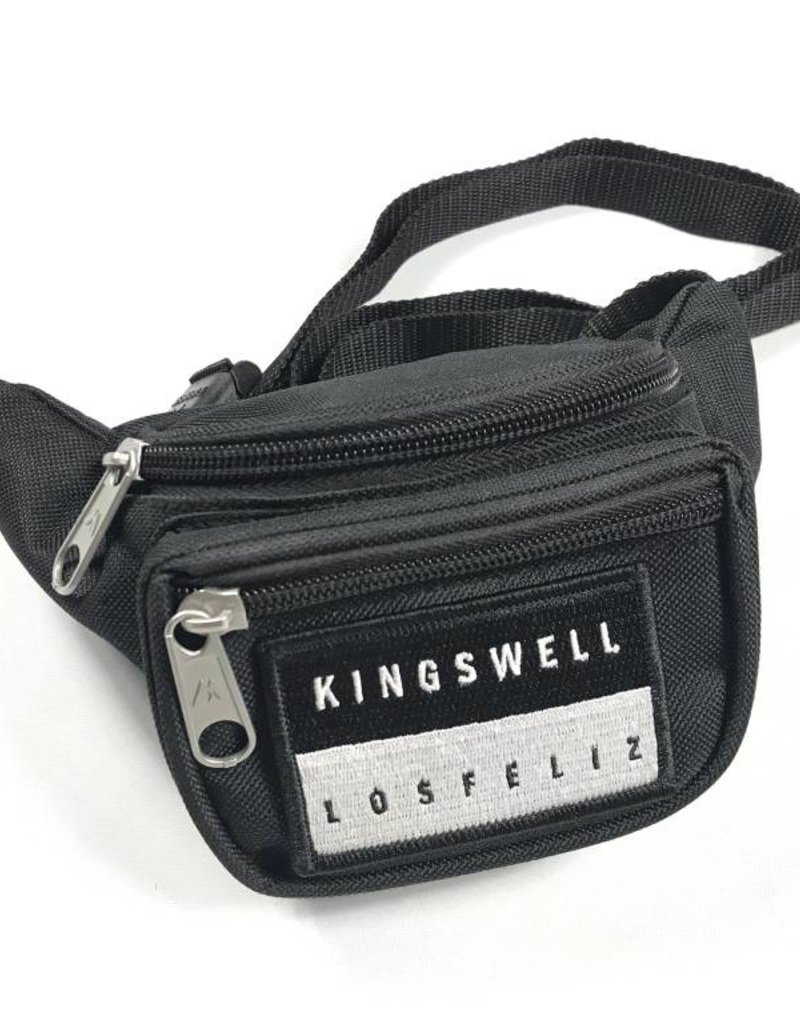 KINGSWELL KINGSWELL PATCHED MINI HIP PACKS