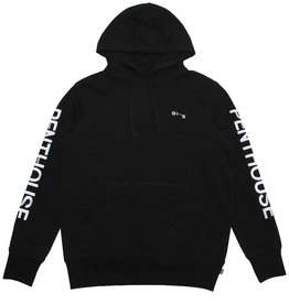 HUF X PENTHOUSE PULLOVER HOOD - BLACK