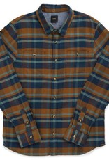 VANS VANS BANFIELD 2 L/S FLANNEL - DRESS BLUES-TOF