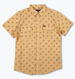 BRIXTON BRIXTON MEMPHIS S/S BUTTON - MAIZE