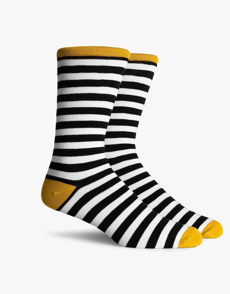 RICHER POORER THEO CREW SOCK - GOLD