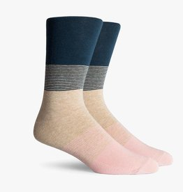 RICHER POORER CLIFF CREW SOCK - TEAL