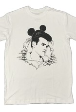 KINGSWELL KINGSWELL MICKEY MOZ T SHIRT - WHITE