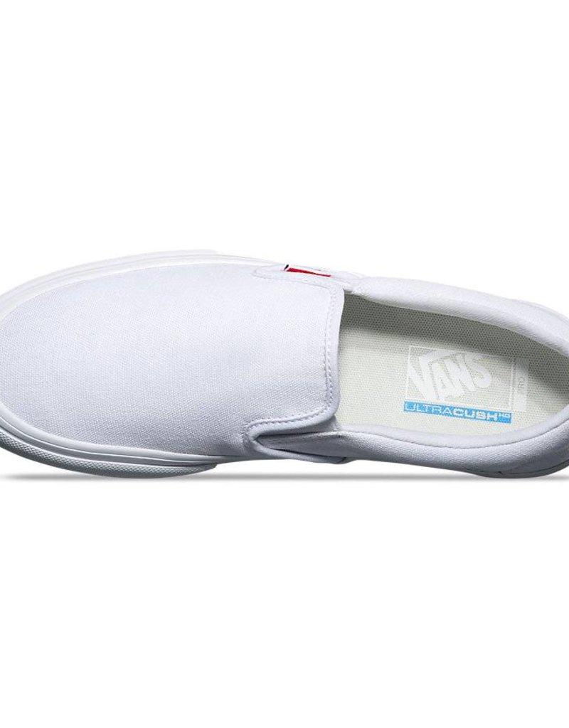 VANS VANS SLIP ON PRO - WHITE / WHITE