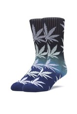 HUF GRADIENT PLANTLIFE SOCK - BLACK/BLUE