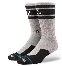 STANCE SMILEY SOCK - GREY