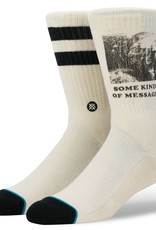 STANCE MESSAGE SOCK - NATURAL