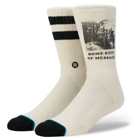 STANCE STANCE MESSAGE SOCK - NATURAL