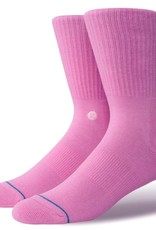 STANCE ICON SOCK - SATURATED PINK