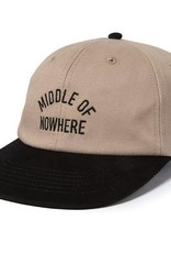 QUIET LIFE QUIET LIFE MIDDLE OF NOWHERE HAT - STONE/BLACK