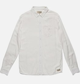 BANKS JOURNAL BANKS JARED MELL L/S BUTTON - OFF WHITE