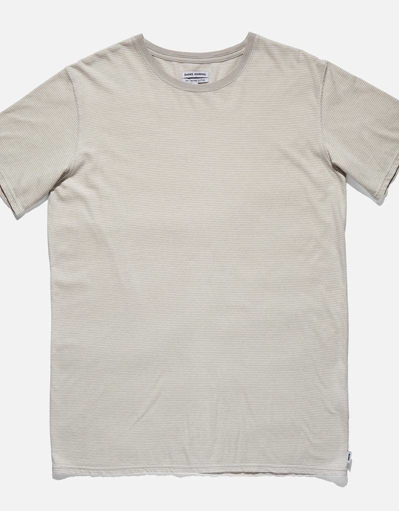 BANKS JOURNAL BANKS MILLENIAL TEE - LIGHT GREY