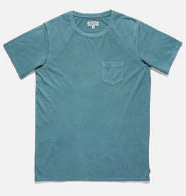 BANKS JOURNAL BANKS STAPLE TEXTURE TEE - GLACIER BLUE