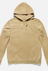 BANKS JOURNAL BANKS RIOT FLEECE HOODIE - DUNE