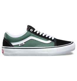 VANS VANS OLD SKOOL PRO - BLACK DUCK GREEN