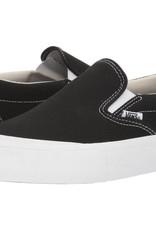 VANS VANS SLIP ON PRO TOE CAP - BLACK/WHITE