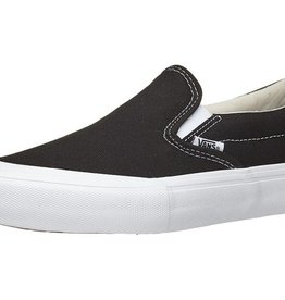 VANS VANS SLIP ON PRO TOE CAP - BLACK/WHITE