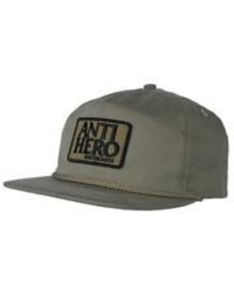 ANTI HERO ANTI HERO RSRVE PATCH HAT - ALOE