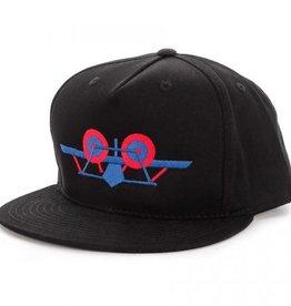SANTA MONICA AIRLINES SMA CLASSIC PLANE HAT - BLACK
