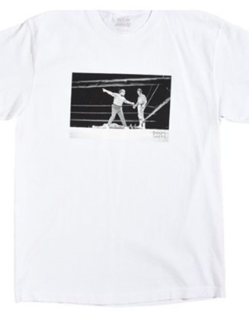 Doom Sayers DOOM SAYERS KNOCKOUT TEE - WHITE
