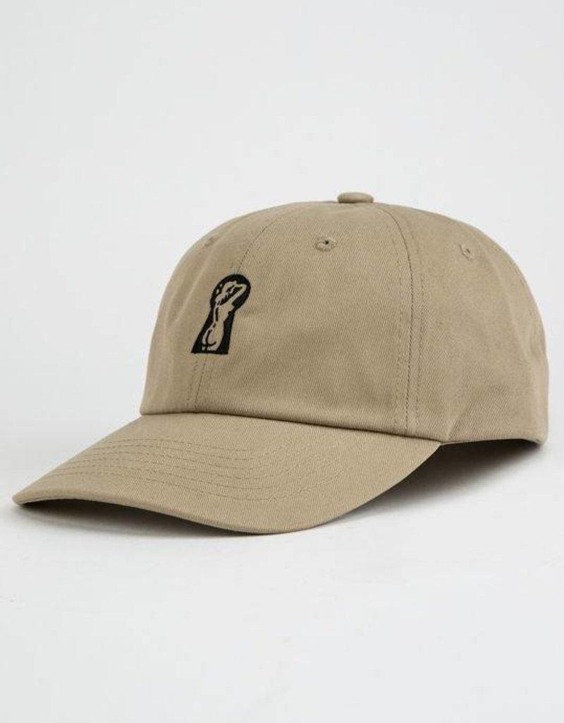 BRIXTON BRIXTON PEEPER CAP HAT - KHAKI