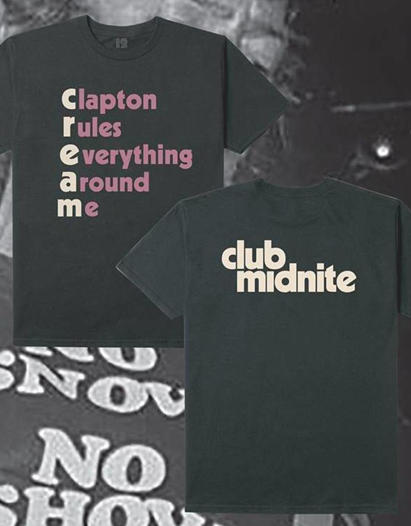 CLUB MIDNIGHT CLUB MIDNIGHT C.R.E.A.M. TEE - BLACK