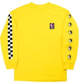 VANS VANS X T&C L/S TEE - LEMON TWIST