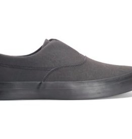 HUF FOOTWEAR HUF DYLAN SLIP ON - BLACK ON BLACK