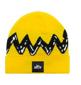 HUF X PEANUTS CHARLIE BROWN BEANIE - YELLOW