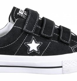 CONVERSE CONVERSE ONE STAR PRO 3V OX - BLACK/POMEGRANATE