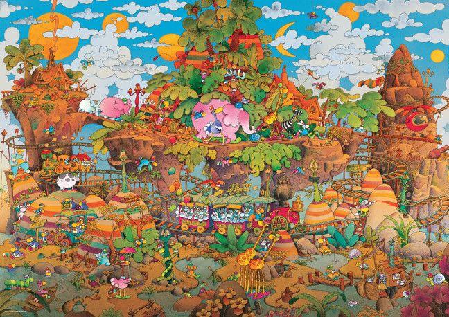 Heye Heye Puzzle Train - Mordillo