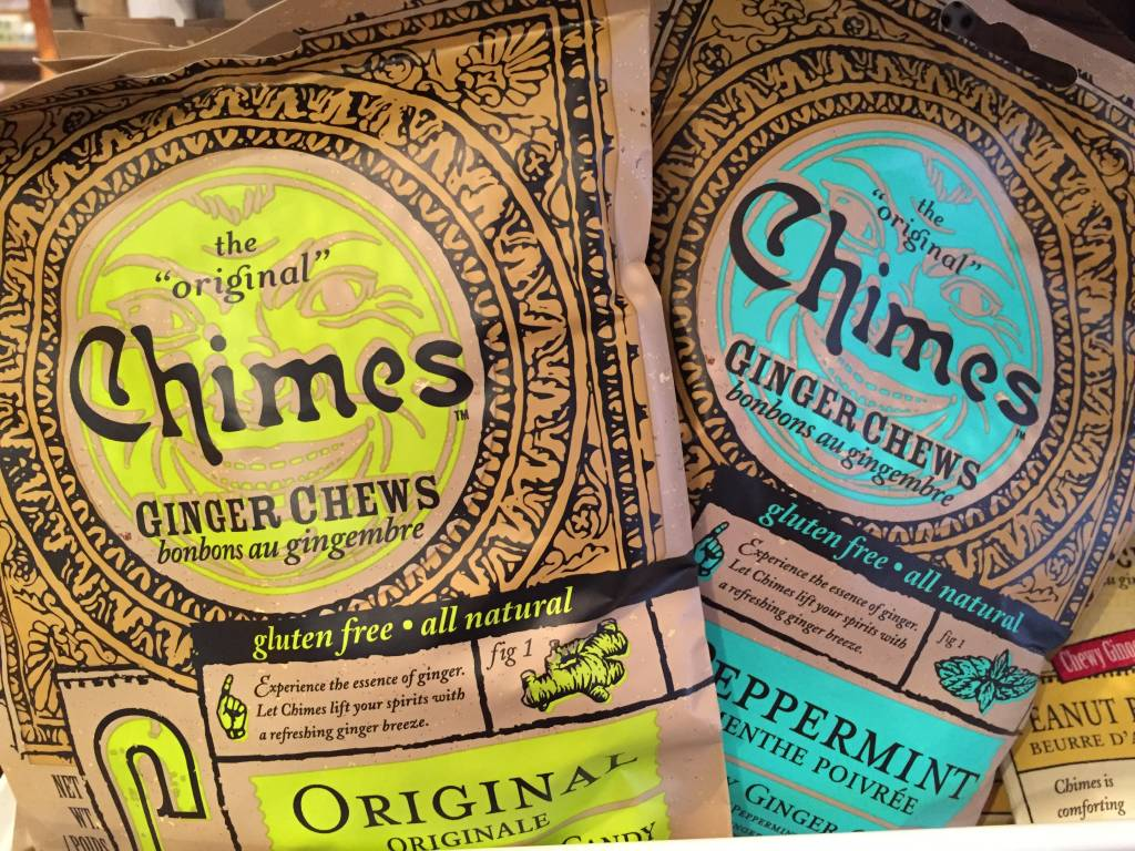 Chimes 353100 Tins Ginger Chews - Original