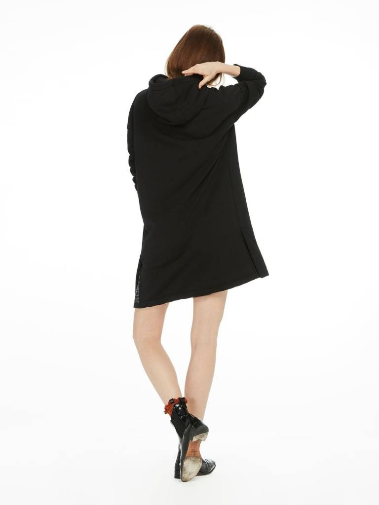Maison Scotch Maison Scotch Oversized Hooded Sweater Dress