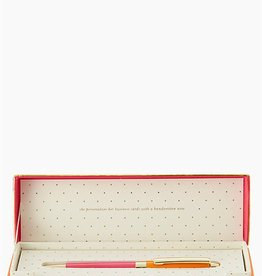 Kate Spade Stylo à bille - Orange et rose