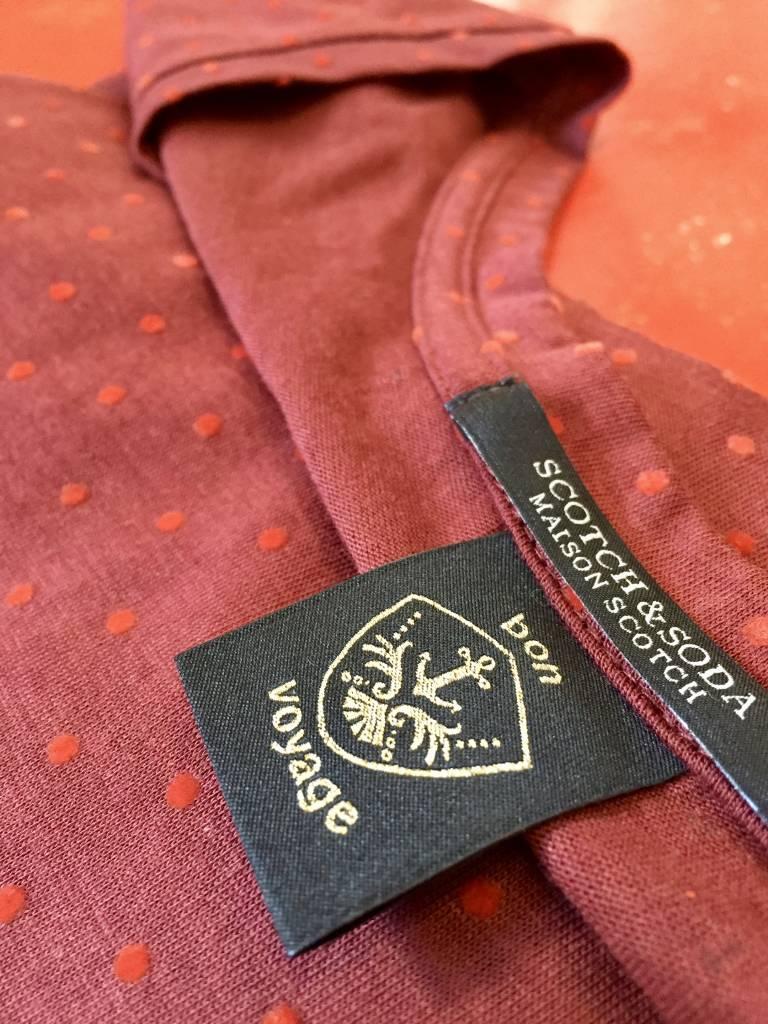 Maison Scotch Maison Scotch Polkadot T-Shirt