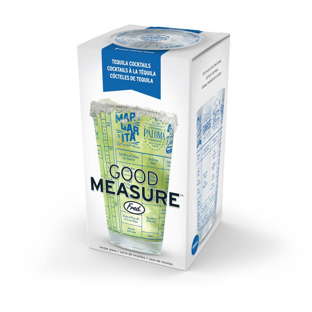 Fred Fred Good Measure Recipe glass - Tequila