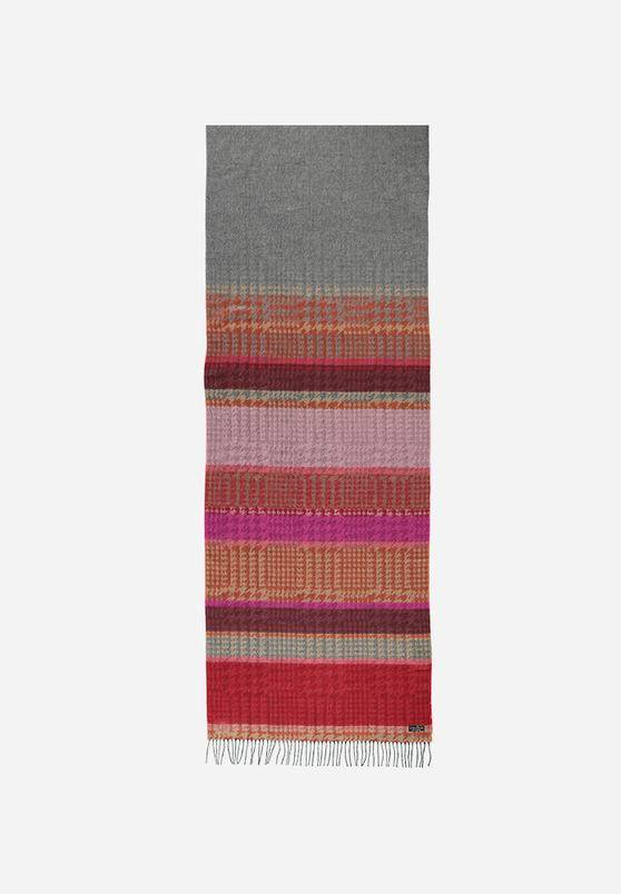 Fraas  Fraas Hounds Tooth Stripe Blanket Wrap