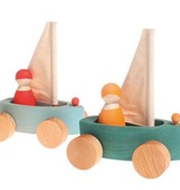 Grimm's Set of 4 little Land Yachts