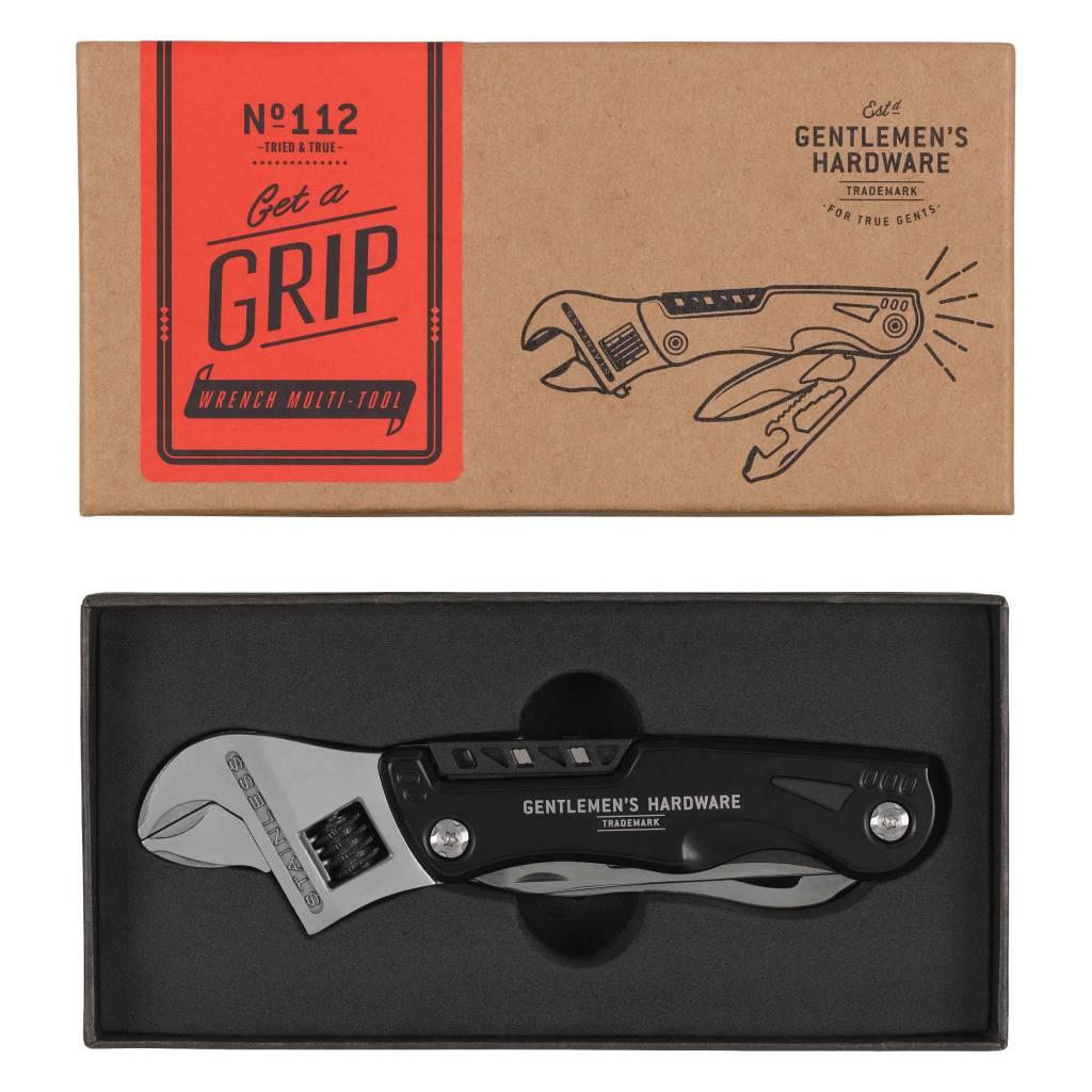 Wild et Wolf Gentlemen's hardware Wrench multi-tool with torch