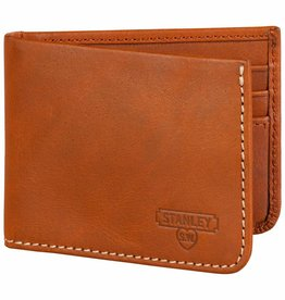Wild et Wolf Money clip leather wallet tan